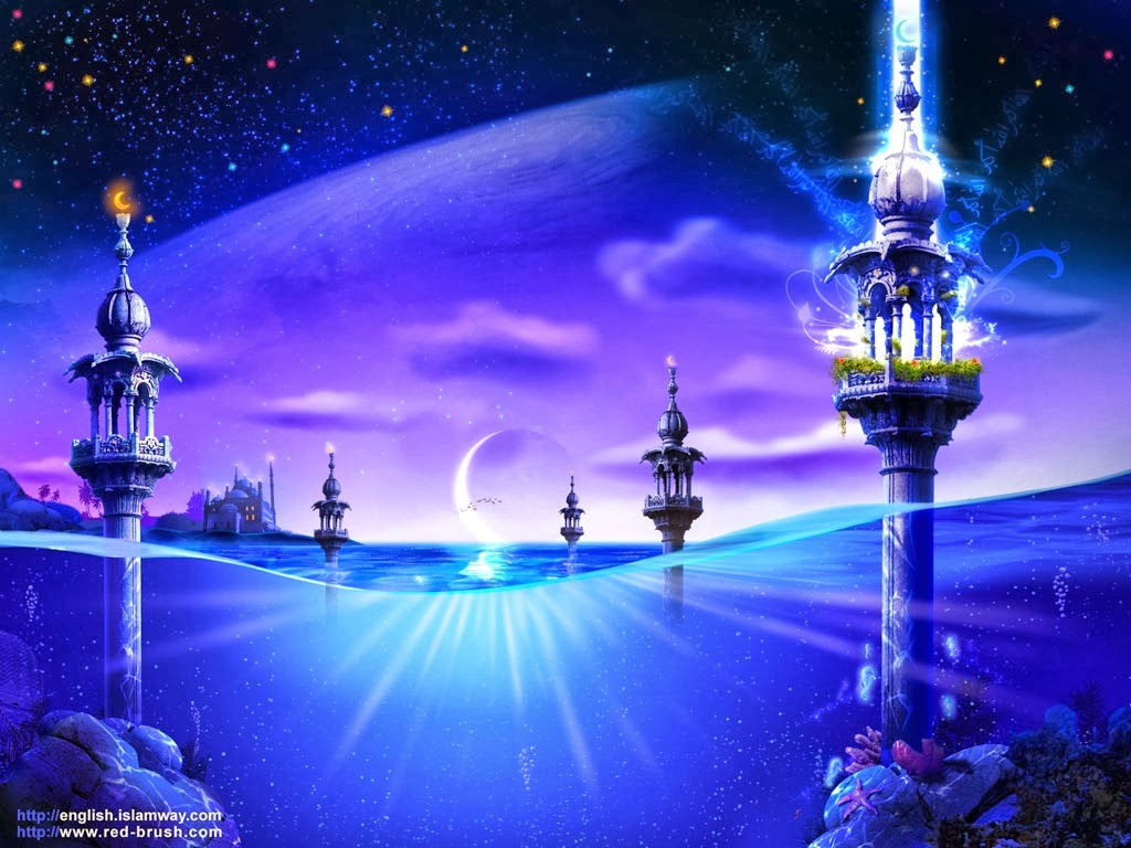 Cool 3D Beautiful Islamic Wallpapers Free Download 2014-15 ...Very Good 3d Islamic Wallpapers Collection