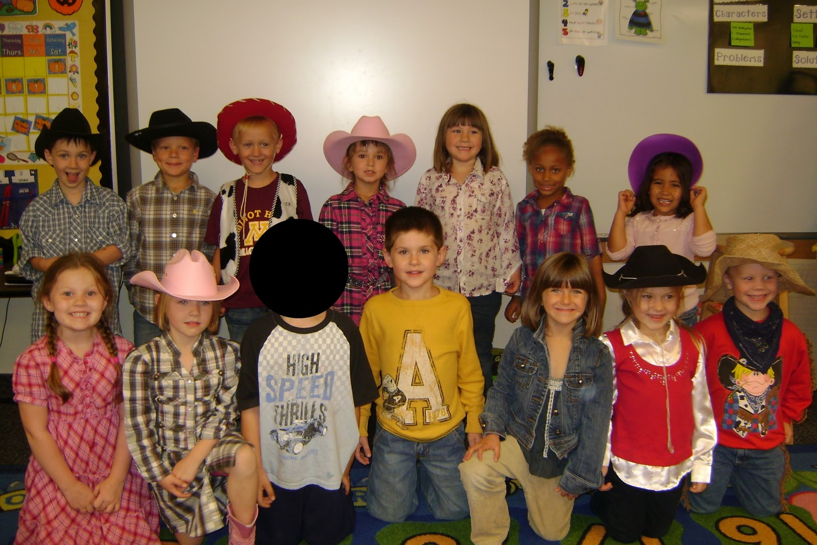 Keyes Kindergarten Western Day And Pumpkins