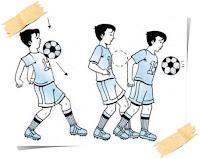 Teknik menghentikan bola dengan dada