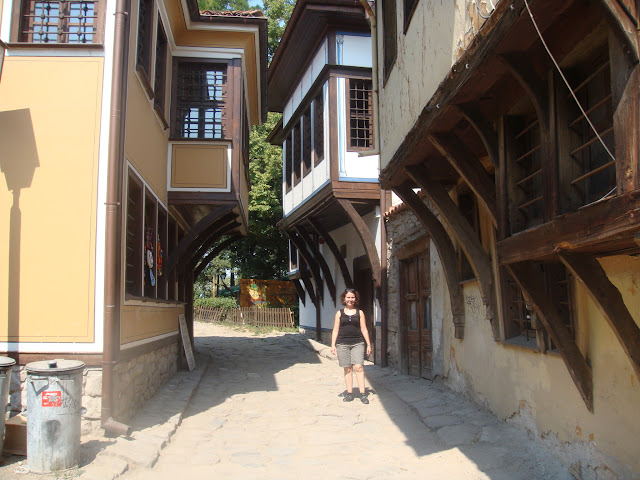 Filibe Eski Şehir sokaklarında