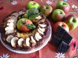 Bizcocho Marmolado con Manzana