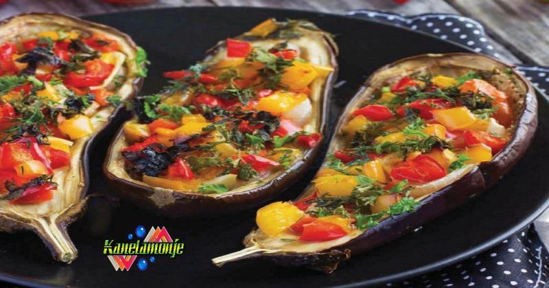 Berenjenas rellenas de verduras kanelamonje recetas de for Cocina berenjenas rellenas