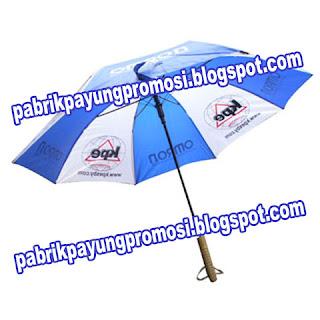 Payung Salur Biru Putih