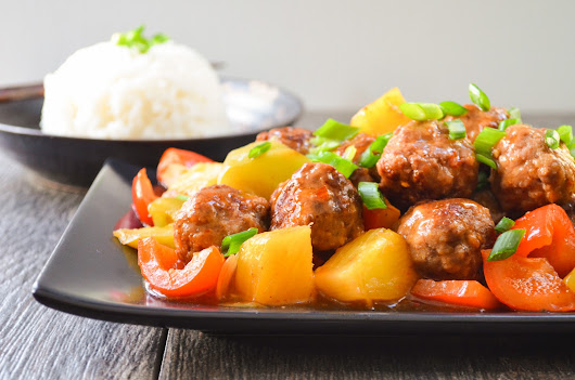 Sweet And Sour Meatballs | Serena Bakes Simply From Scratch