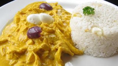Aji de Gallina Peru, Peruvian gastronomy, Aji de Gallina Aji of hen Per