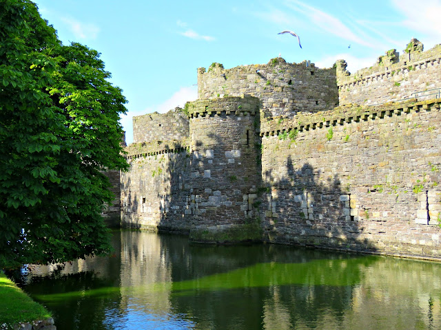 Beaumaris Castle, Anglesey, Wales