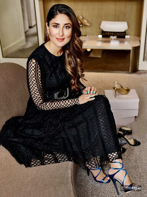Kareena Kapoor at Jimmy Choo store