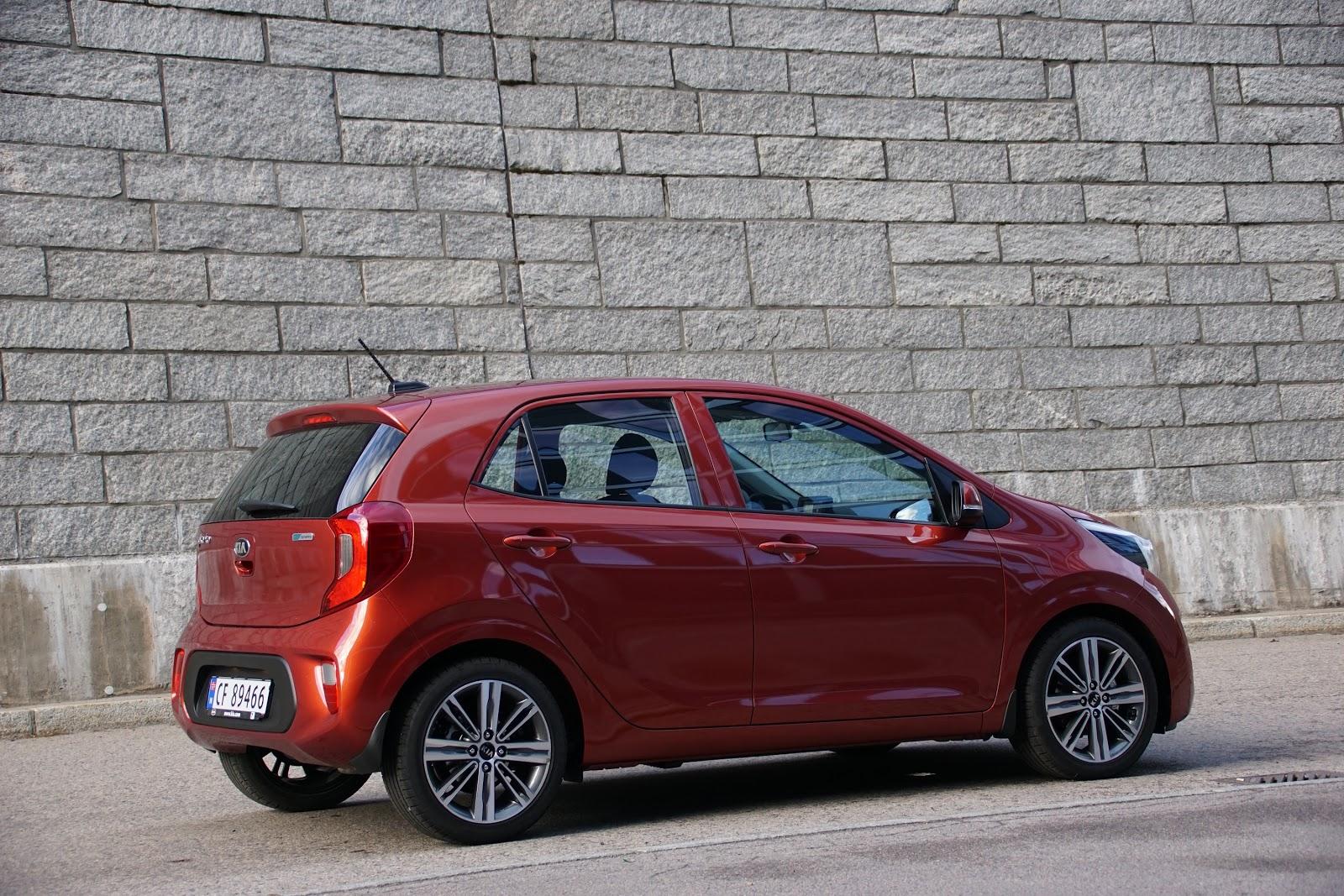 Test: Kia Picanto - Bil og Motorbloggen