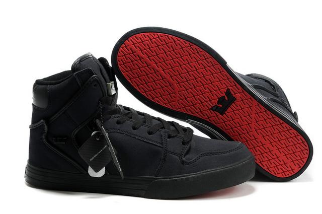 Supra Vaider Red Carpet Series Shoes Tuf Black