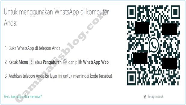 Cara Membuka WhatsApp Mobile di WA Web Menggunakan Laptop