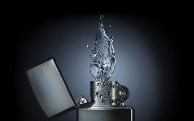 çakmaktan su çıkıyor :)