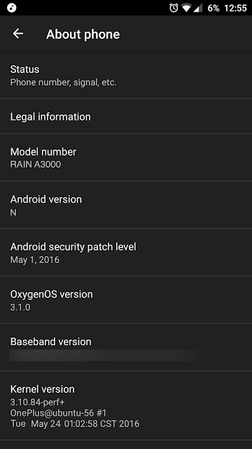 OnePlus 3 Spotted Running Android N