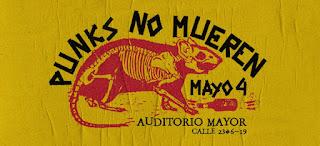 Festival PUNKS NO MUEREN Vol. 1 Bogotá, Colombia