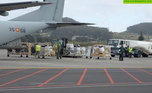 Sanidad continúa recibiendo material de protección para el personal sanitario y de riesgo ante el COVID-19