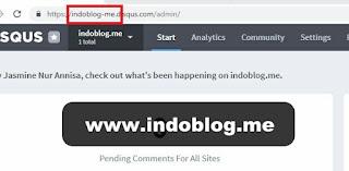 Cara Pasang Disqus di Blogger Dan Mengetahui Shortname Disqus