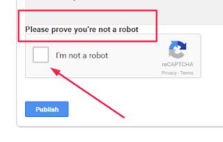 enable captcha verification