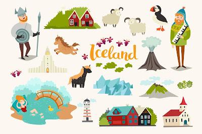 Foto con todas las curiosidades de Islandia