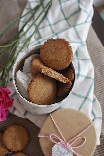 gryczane ciasteczka z tahini