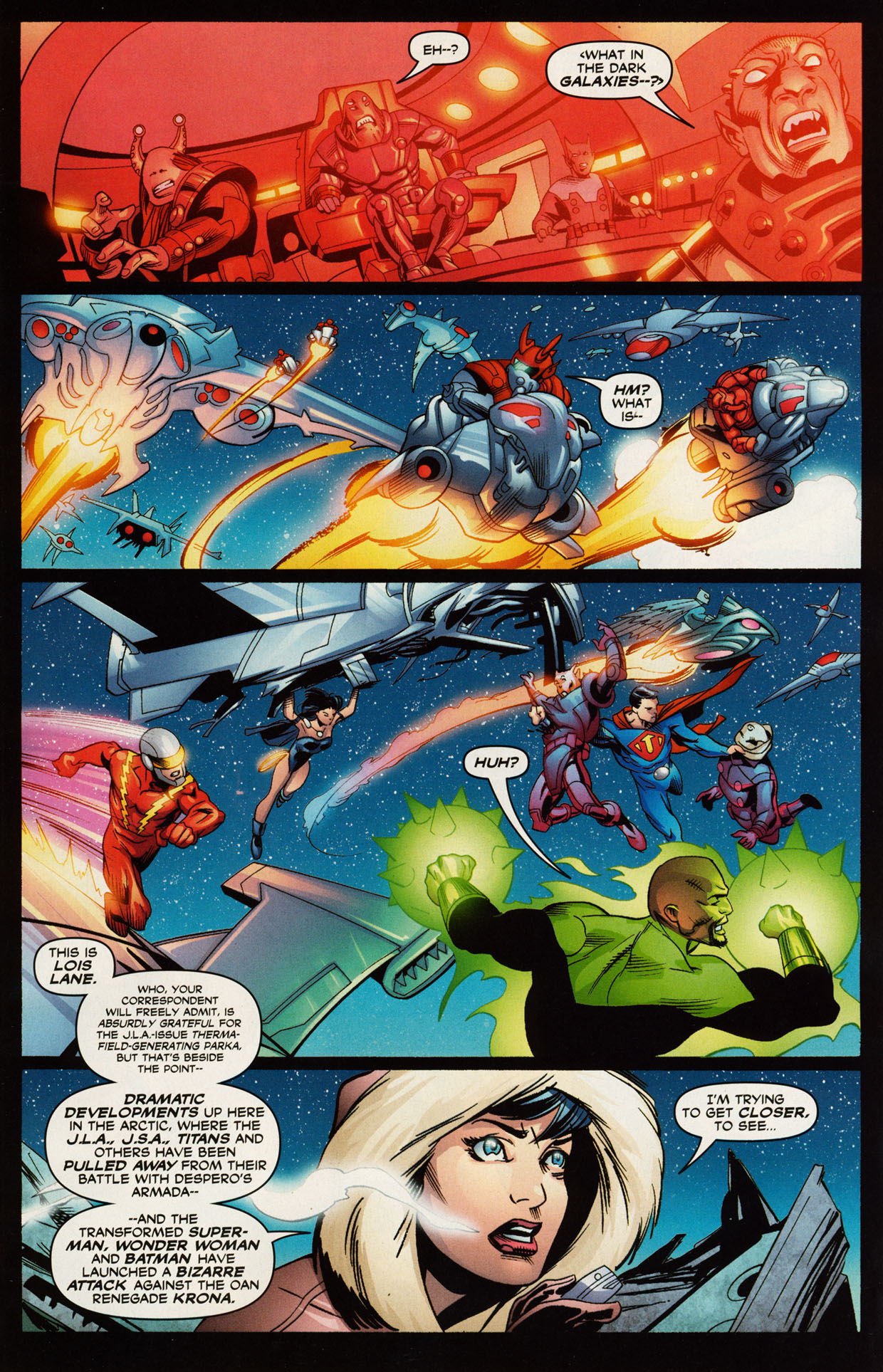 Read online Trinity (2008) comic -  Issue #49 - 3