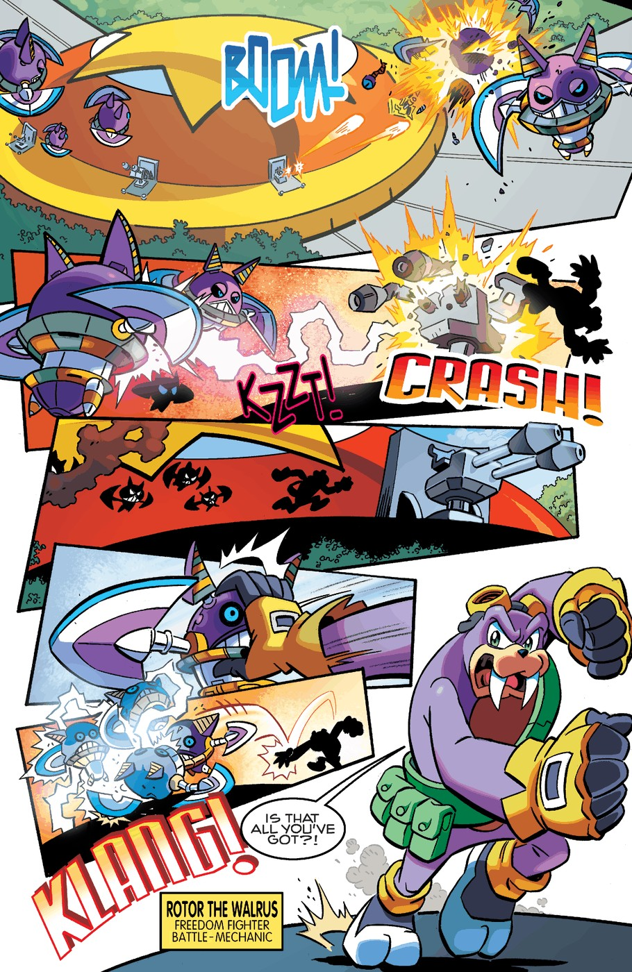 Read online Sonic The Hedgehog comic -  Issue #253 - 12