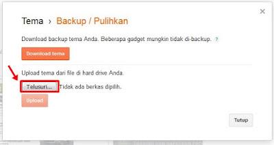 klik upload