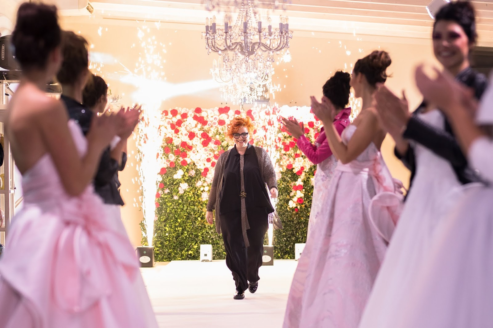 82951f5f8494 Collezione sposa Elisabetta Polignano  sfilata Il Giardino Fiorito delle  Spose (FOTO)