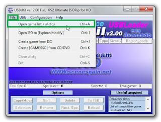 Cara Sortir Atau Menyusunkan List Game PS2 OPL Sesuai Urutan Abjad