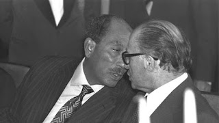 الرئيس المصري أنور السادات