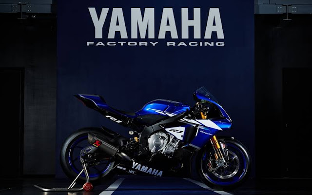 Rendering Yamaha YZF-R1 versi World Superbike
