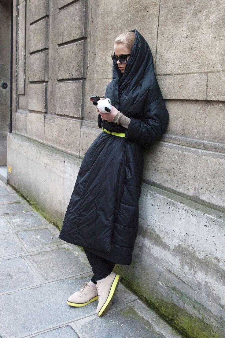 Trend Alert Puffer Jackets Plum 237 Feros Front Row