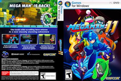 Jogo Mega Man 11 PC DVD Capa