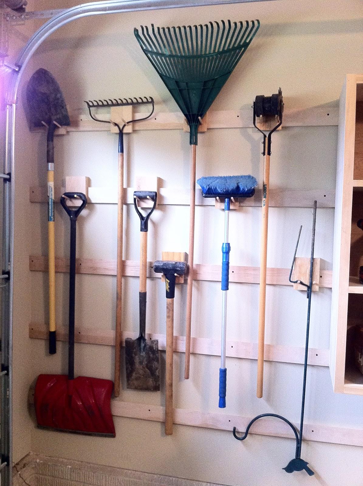 Chad S Workshop French Cleat Garage Storage