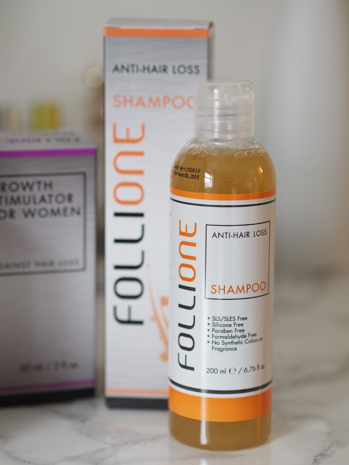 Follione review anti-hair loss shampoo Priceless Life of Mine over 40 lifestyle blog