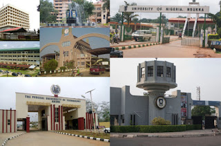 List Of Federal Universities in Nigerian That Accept Second Choice Candidates
