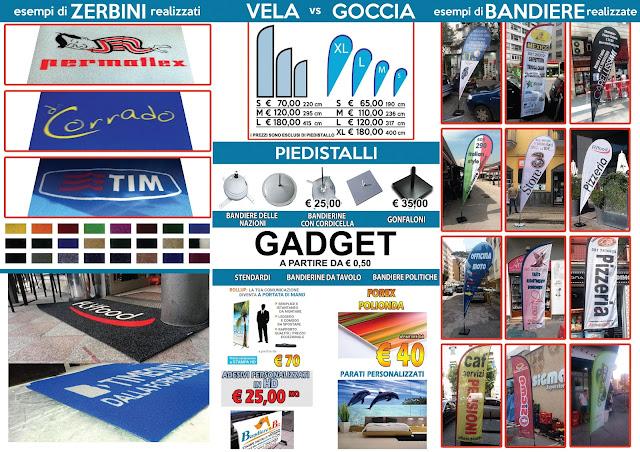 produzione bandiere.: adesivi personalizzati in hd napoli acerra