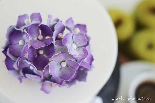 Hortensias de azúcar