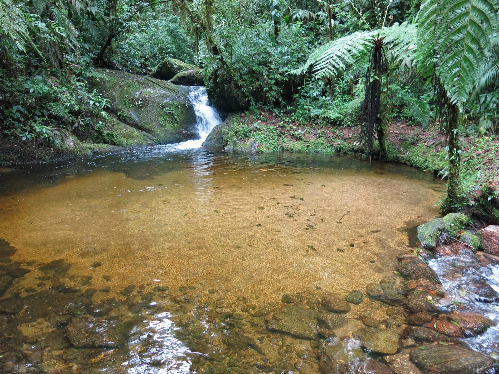 Poço de Areia, mais uma cachoeira no Vale do Alcantilado em Visconde de Mauá.
