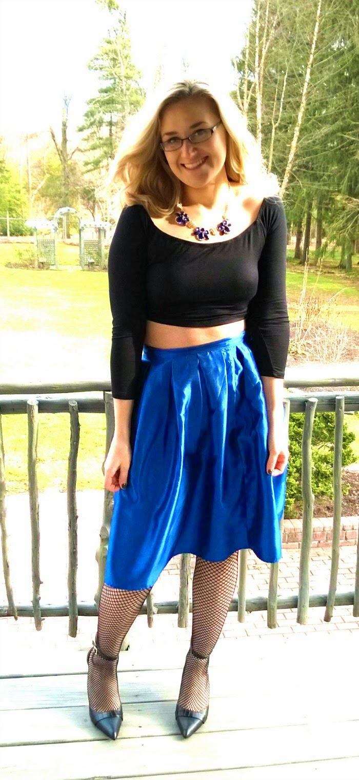 6f12951921 New Years Eve Outfit   Glitter Skirt   Crop Top