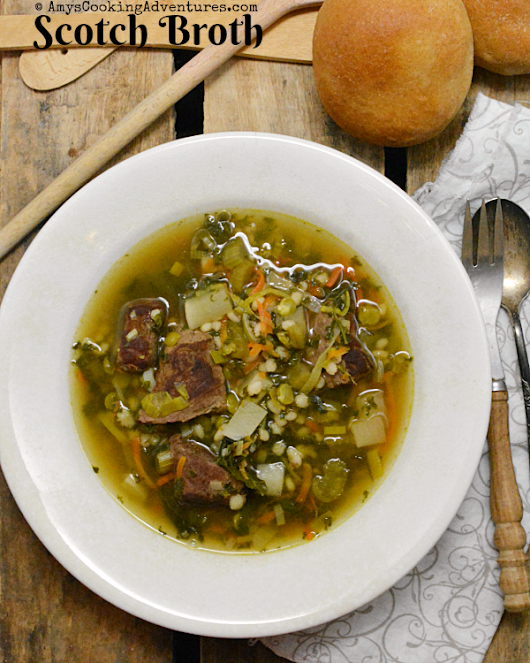Scotch Broth #SoupSwappers