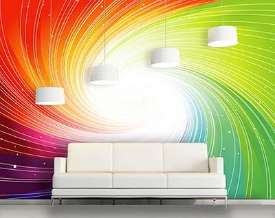 Fall Themed Wallpaper Decorating Theme Bedrooms Maries Manor Rainbow Wall Decals