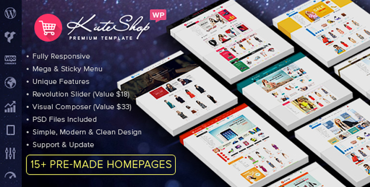 KuteShop - Multipurpose WooCommerce WordPress Theme