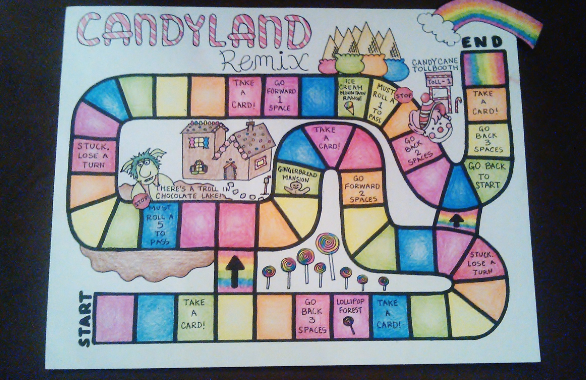 Wonderland Crafts Board Game