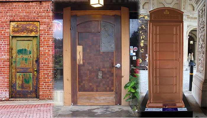 Puertas exterior metalicas puertas exterior garaje - Puertas metalicas para exteriores ...