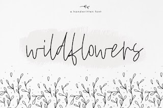 Wildflowers A Handwritten Font