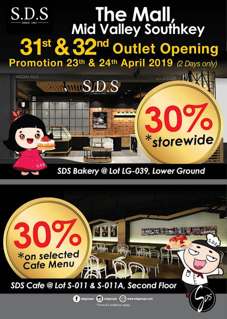 SDS 31ST & 32ND OUTLET OPENING AT THE MALL MID VALLEY SOUTHKEY