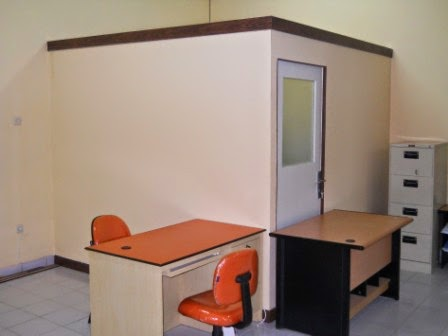 Sekat Partisi Ruangan Kantor furniture semarang