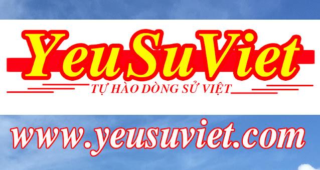 Yêu sử việt, history of vietnam, lịch sử việt nam qua các thời kỳ, trần hưng đạo, hùng vương, lê lợi, nguyễn huệ, quang trung, hồ chí minh