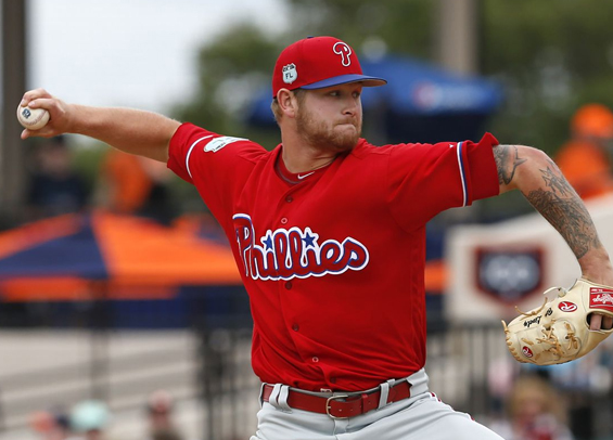 Lively continues to push for slot in Phillies rotation