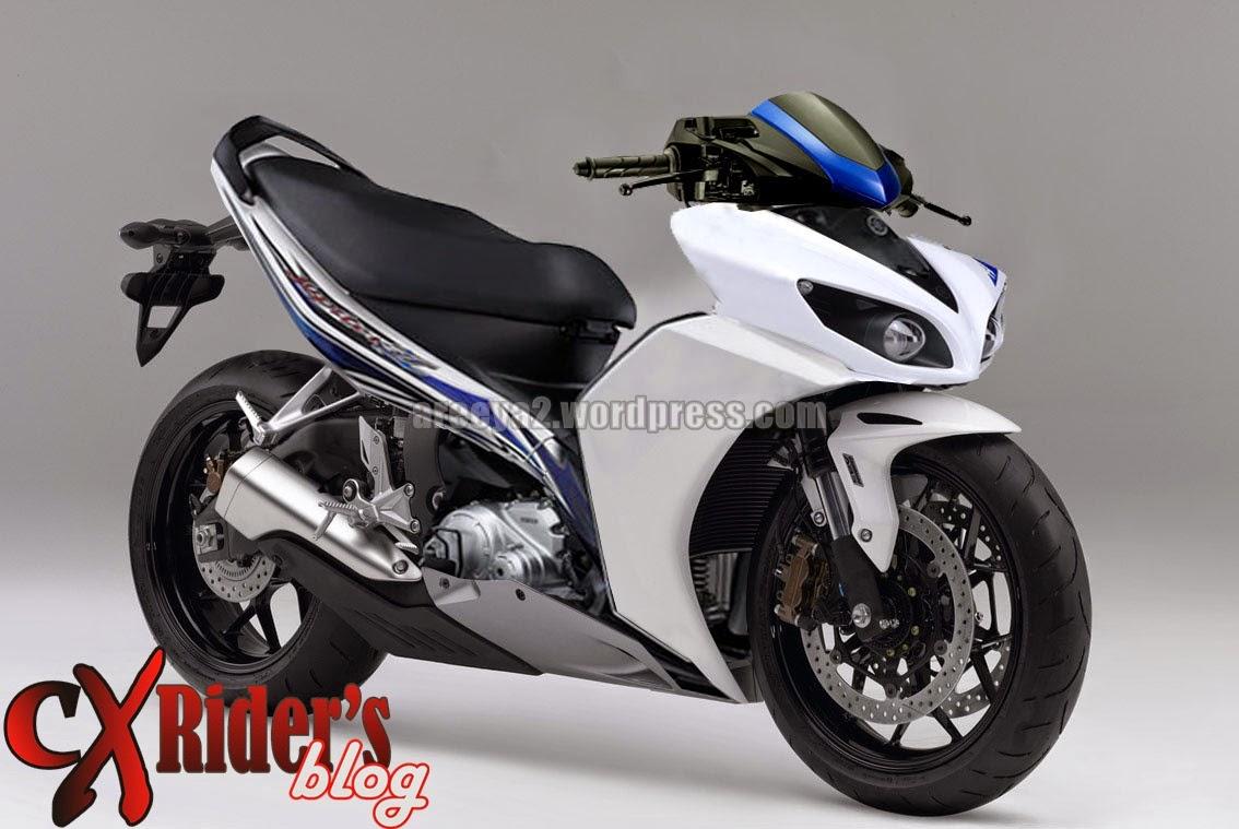 Modifikasi Yamaha Jupiter Z1 2014 Terupdate Klobot Modif