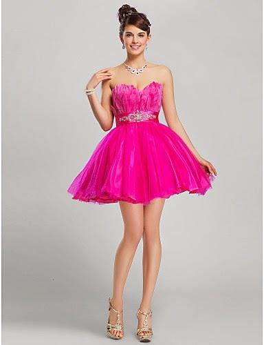 3eb5dadb0 Lindos vestidos cortos de 15 años para fiesta